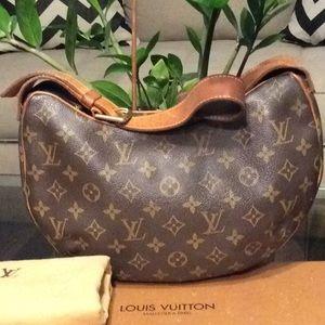 Authentic Louis Vuitton Croissant bag w Dustbag PM